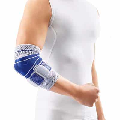 Bauerfeind EpiTrain Armbågsskydd Titan Armbågsstöd av högsta kvalitet