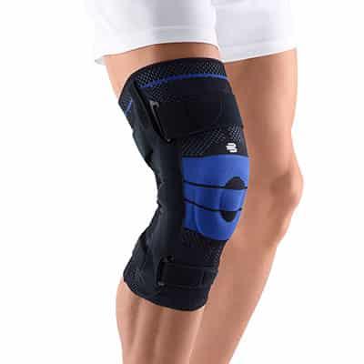 Bästa knästödet vid svåra knäskador som Korsbandsskada Artrit Meniskskada Ledbandsskada Knäskydd med skenor