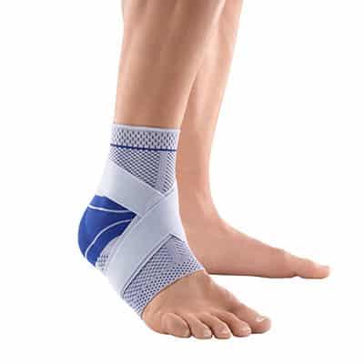 Bauerfeind MalleoTrain Plus Titan ett av de bästa och mest stabila fotledsstöden ankelskydden på marknaden