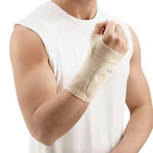 ManuTrain Handledsstöd Natur ett bekvämt handledsskydd för dig som dras med smärtor i handlederna