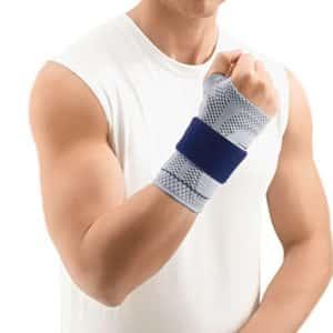 ManuTrain Handledsstöd ett bekvämt handledsskydd för dig som dras med smärtor i handlederna