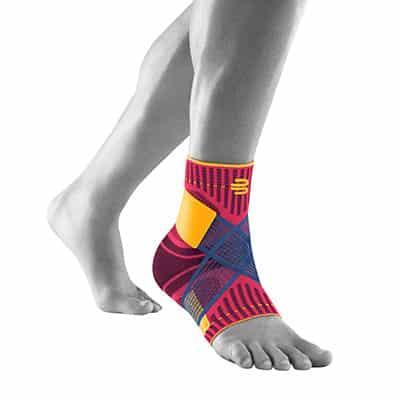 Bauerfeind Sports Ankle Support Rosa Ankelstöd