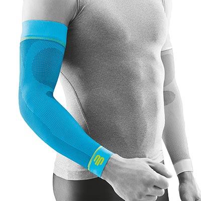 Bauerfeind Sports Armsleeve Compression Sleeves Arm Rivera Främjar blodcirkulationen och påskyndar återhämtningen