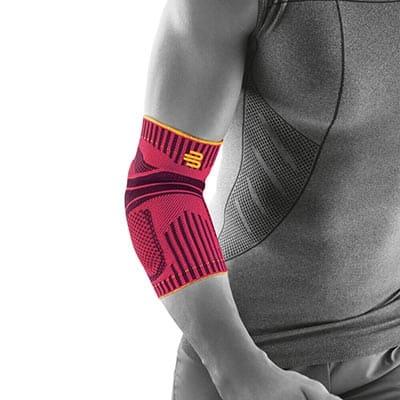 Bauerfeind Sports Elbow Support Rosa Marknadens bästa armbågsskydd