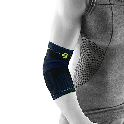 Bauerfeind Sports Elbow Support Svart bra och smidigt armbågsskydd
