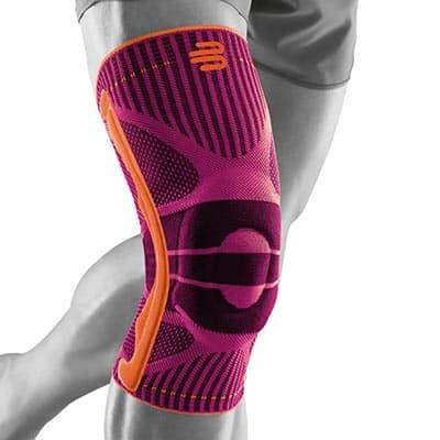 Ett lätt och smidigt knästöd vid lindrigare knäsproblem såsom meniskskada hopparknä och svullnad