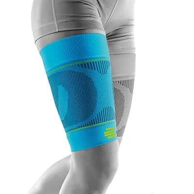 Bauerfeind Sports Compression Sleeves Thigh Lårsleeve Rivera Främjar blodcirkulationen och påskyndar återhämtningen