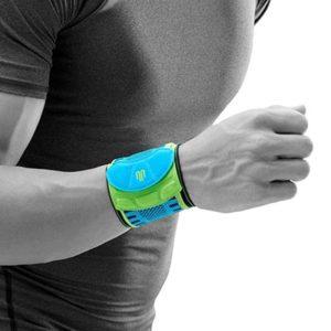 Bauerfeind Sports Wrist Strap Rivera Handledsband som avlastar handleden vid överansträning och svaga handleder. Förebygger även skador