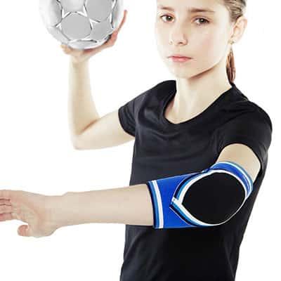 Rehband PRN Original Elbow Pad Junior Armbågsskydd för barn som spelar handboll