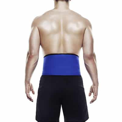 Rehband QD Back Support 3mm ryggbälte som ger värme