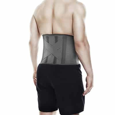 Rehband QD Knitted Back Support ryggkorsett