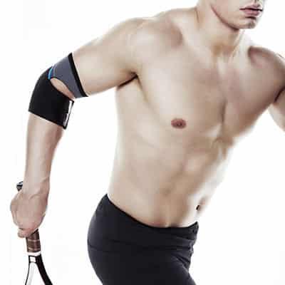 Rehband UD Tennis Elbow Sleeve Grå för tennis- och golfarmbåge