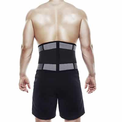Rehband UD X-Stable Back Support Grå ryggstöd styrketräning