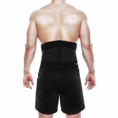 Rehband UD X-Stable Back Support Svart ryggbälte styrketräning
