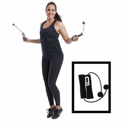 Swedish Posture Jump Ett elektroniskt hopprep utan snöre som mäter dina hopp digitalt