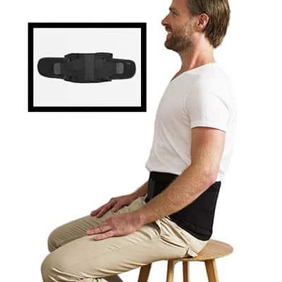 Swedish Posture Stabilize Ryggbälte. Bekvämt bälte som stabiliserar ländryggen och lindrar smärta i ryggen