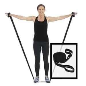 Swedish Posture Workout Band är ett perfekt redskap för träning i hemmet