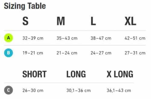 sleeveleg storlek