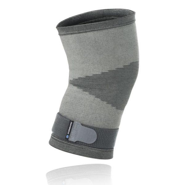 QD Knitted Knee Sleeve Rehband baksida