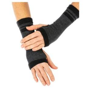 funq wear handledsvärmare för dam tjej kvinna svart grå
