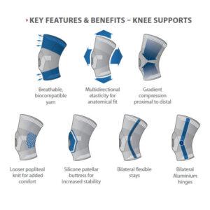 DonJoy Strapping Elastic Knee detaljer